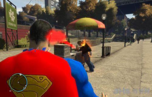 侠盗猎车手4超级英雄超能力模式超人MOD截图0