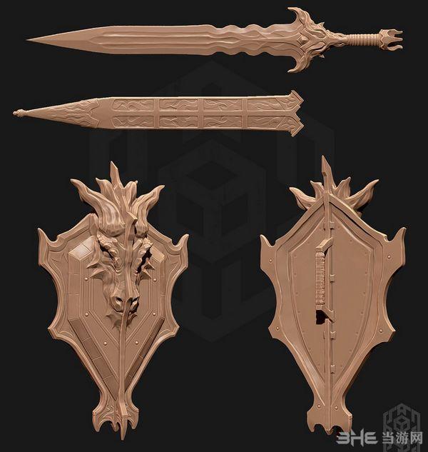 上古卷轴5天际帝国龙骑士军械MOD截图4