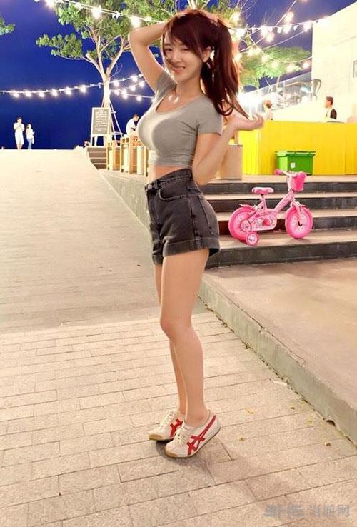 泰国最胸女主播虎牙妹图片1