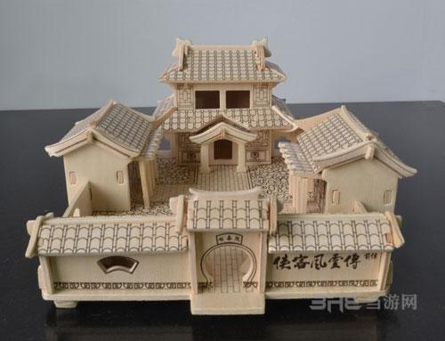 侠客风云传前传木质模型2