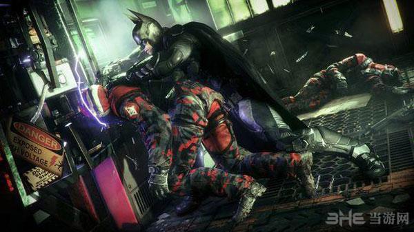 蝙蝠侠:阿甘骑士1
