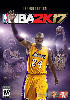 NBA2K17封面
