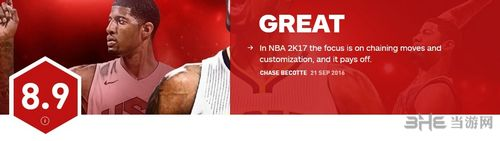 NBA2K17IGN评分截图