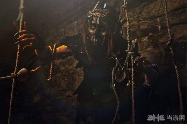 巫师3汤勺怪Cosplay图片3