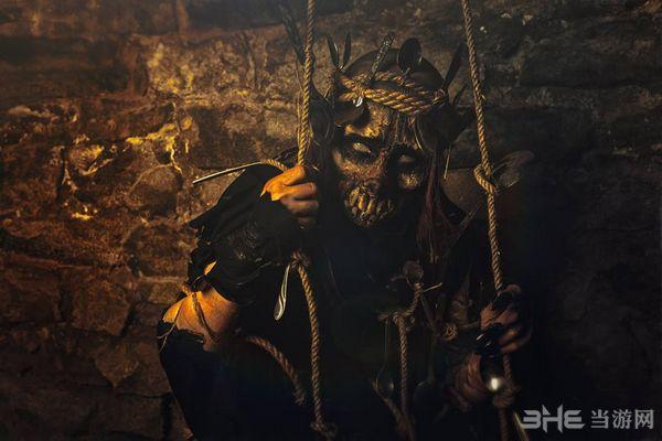 巫师3汤勺怪Cosplay图片4