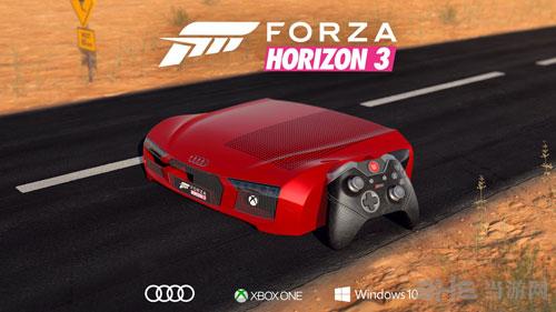 Xbox奥迪R8限定主机图片