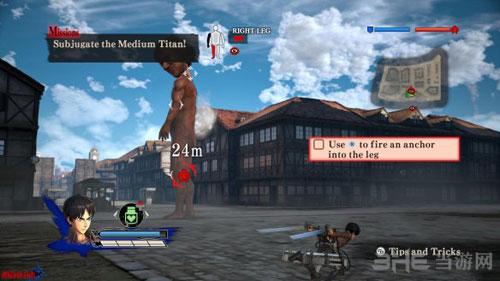 进击的巨人游戏截图5