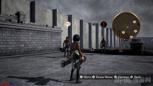 进击的巨人游戏截图2