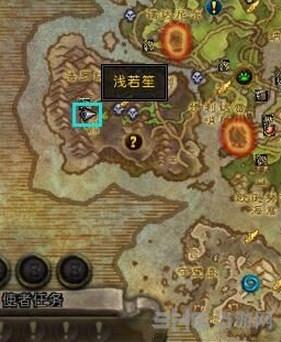 魔兽世界7.0世界任务通缉审判官提沃斯位置截图1