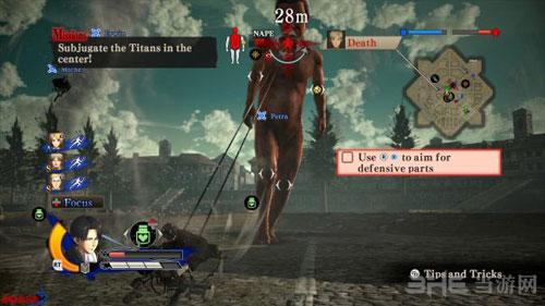 进击的巨人游戏截图9