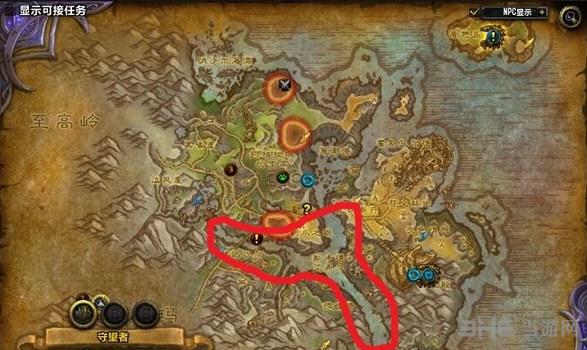 魔兽世界7.0各地图鱼点截图4