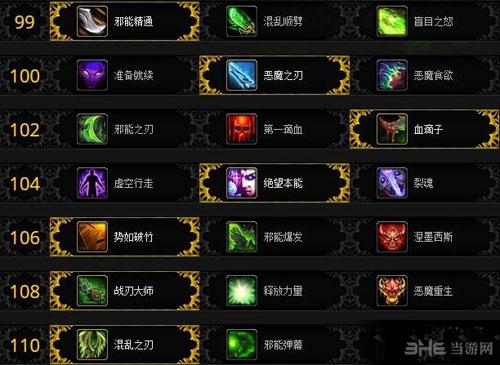 魔兽世界7.0恶魔猎手神器加点图片5