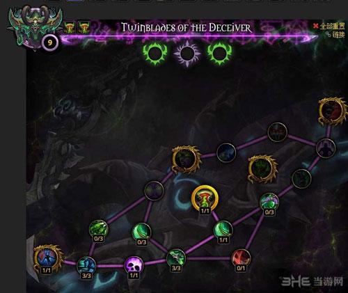 魔兽世界7.0恶魔猎手神器加点图片7