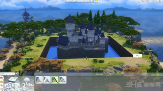 模拟人生4霍格沃茨城堡截图1