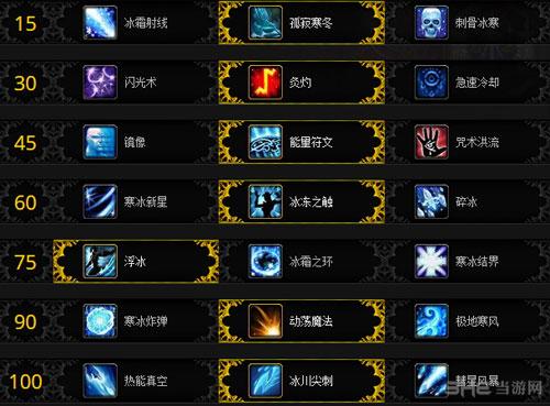 魔兽世界军团再临7.0法师神器加点配图6
