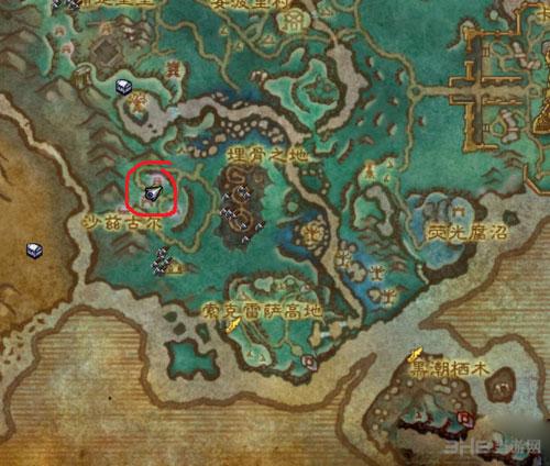 魔兽世界7.0先行者成就书籍坐标配图4