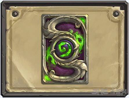 炉石传说新卡背1