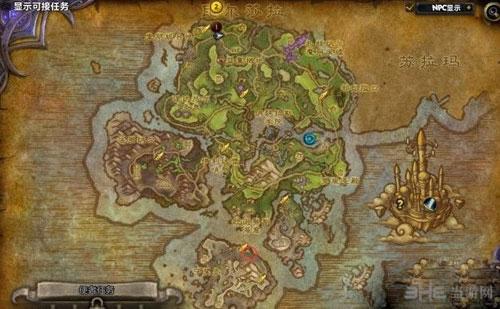 魔兽世界7.0猎血者之赐坐标截图1