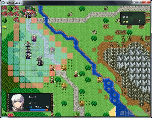 Vestaria Saga I 亡国的骑士与星之巫女截图2