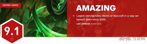 魔兽世界军团再临IGN评分