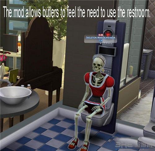 模拟人生4骷髅女仆MOD截图2