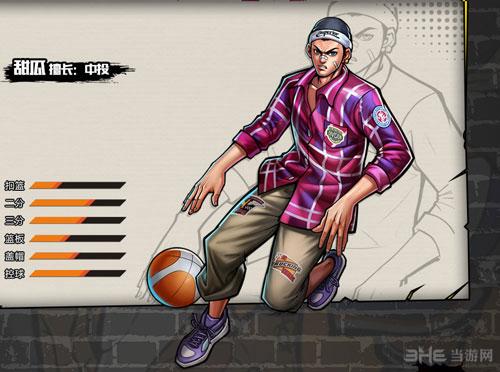 街头篮球手游甜瓜属性截图1