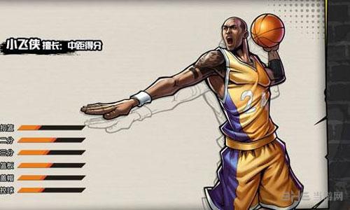 街头篮球小飞侠图片