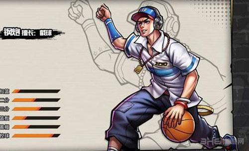 街头篮球手游钢炮图片