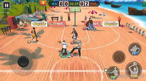 街头篮球手游图片1