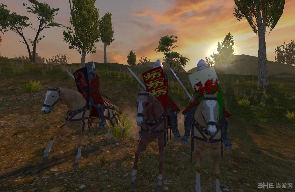 骑马与砍杀1371英法百年战争MOD截图1