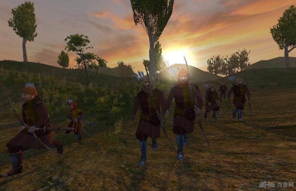 骑马与砍杀1371英法百年战争MOD截图2