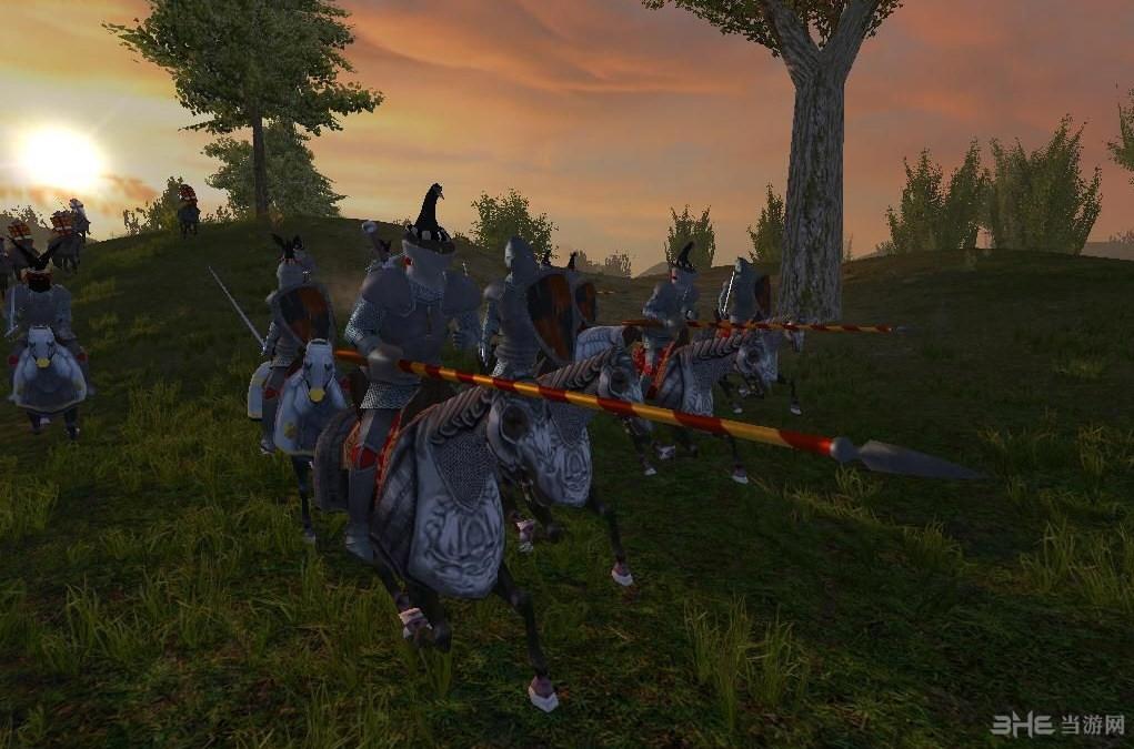 骑马与砍杀1371英法百年战争MOD截图3