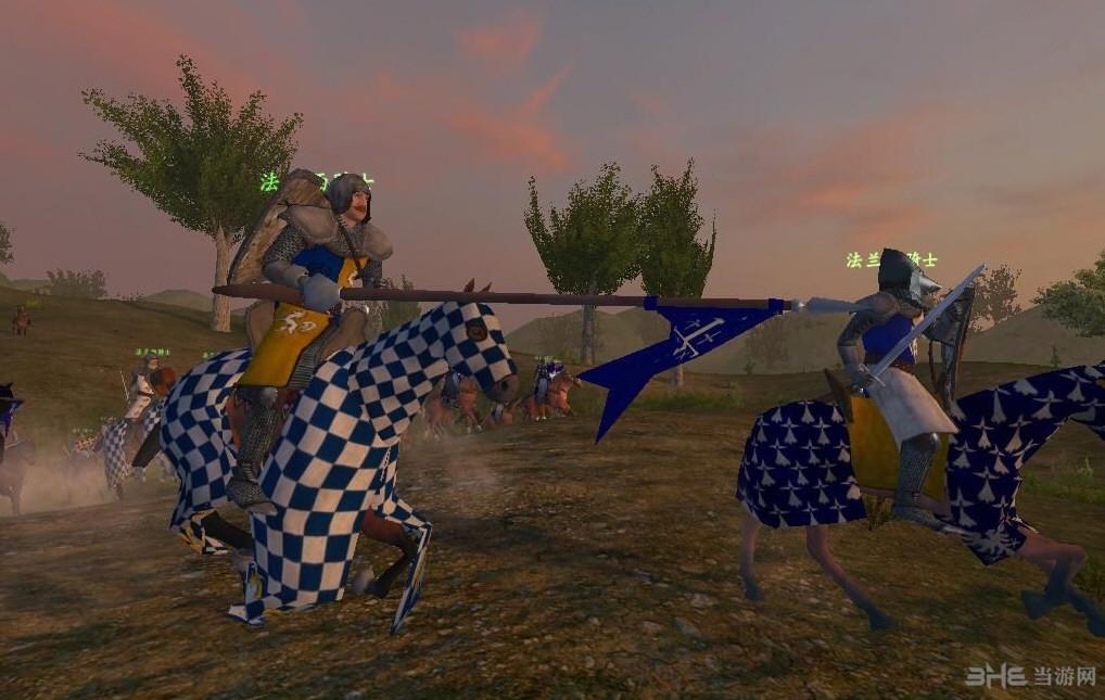 骑马与砍杀1371英法百年战争MOD截图4