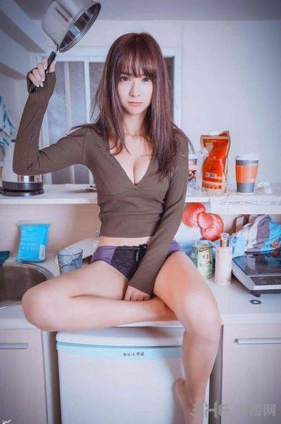 台湾女主播张雅涵图片3
