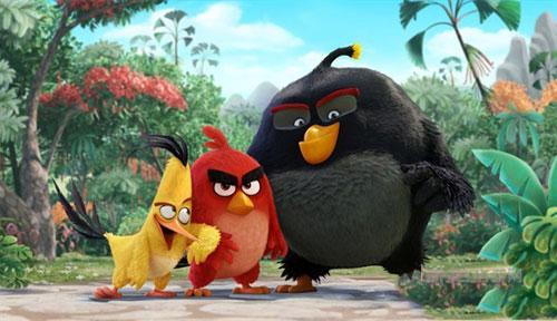 愤怒的小鸟画面截图3