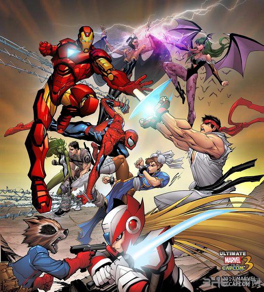 终极漫画英雄vs.卡普空3图片2