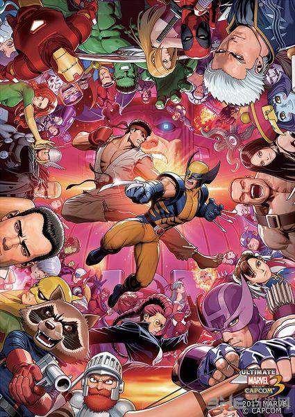 终极漫画英雄vs.卡普空3图片1