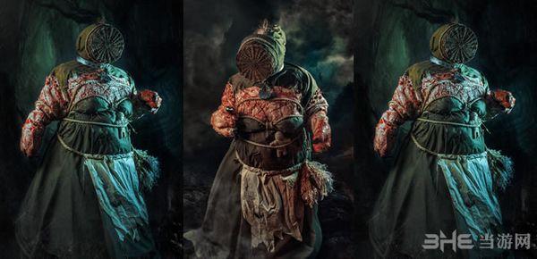 巫师3森林女巫Cosplay图片1