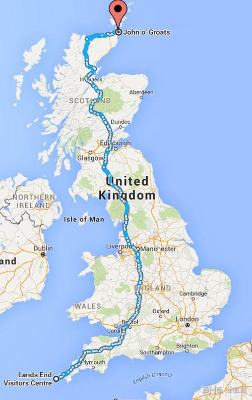 英国地图画面截图1