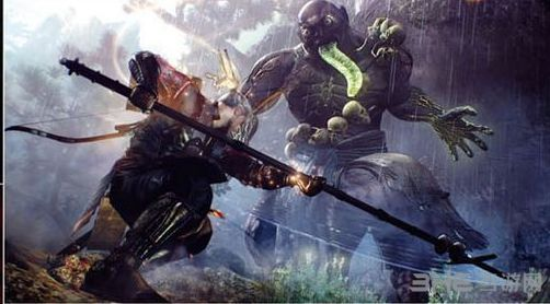 《仁王》放出大量游戏截图 画面魔幻武士威廉开无双
