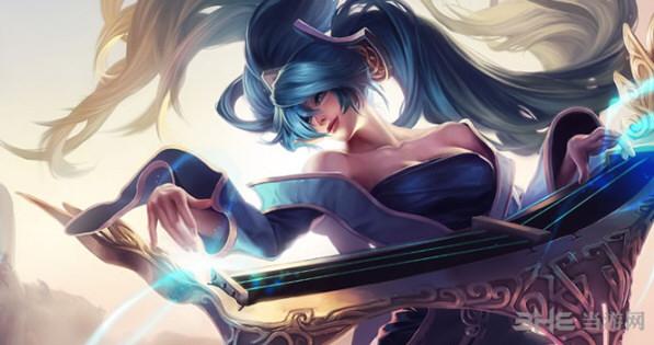 我的世界英雄联盟琴瑟仙女-娑娜皮肤截图0
