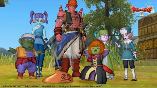 勇者斗恶龙X画面截图2