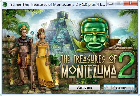 蒙特祖玛的宝藏2四项修改器截图0