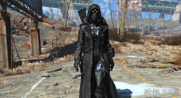 辐射4新衣黑寡妇MOD截图0