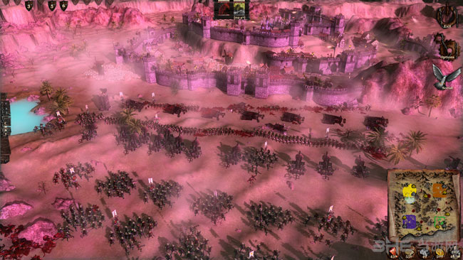 王国战争2战场截图