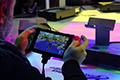 任天堂Switch掌机模式实拍演示 屏幕表现出色