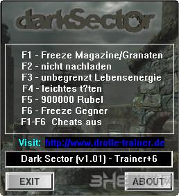 黑暗地带六项修改器截图0