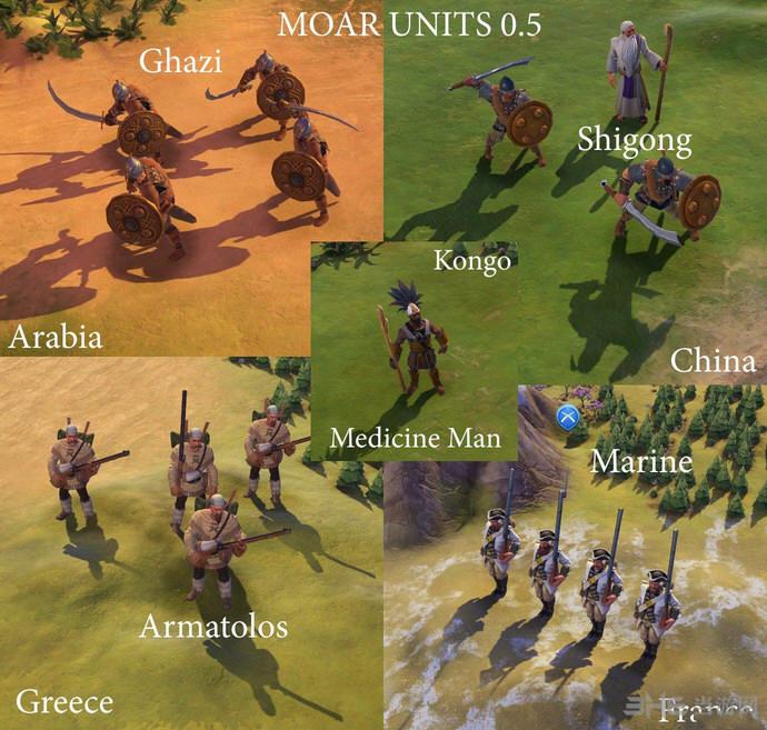 文明6 33兵种MOD截图0
