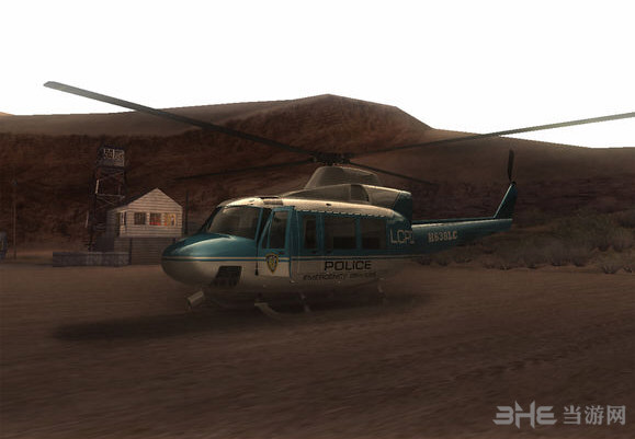 侠盗猎车圣安地列斯高清版直升机MOD截图0