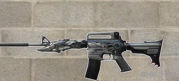 求生之路2雷神M4A1突击步枪MOD截图0